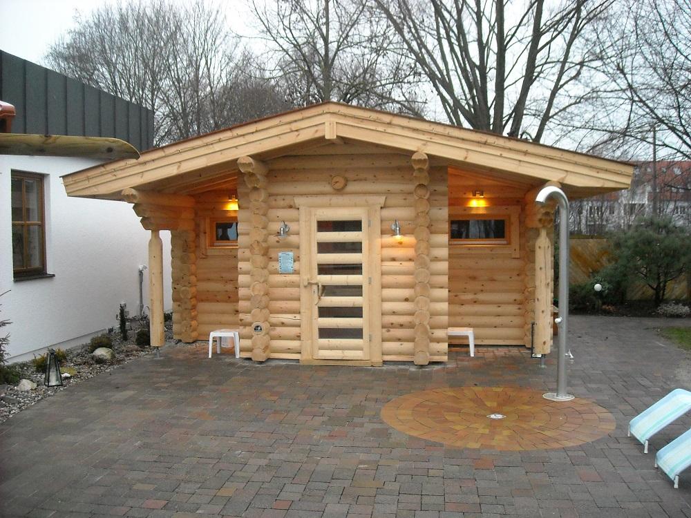 sauna dulmen die ersten drei fotos finnische rundstamm investor park bobingen auftraggeber bs finnland da 1 4 lmen hersteller ikihirsi oy insel
