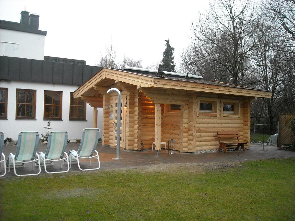 sauna dulmen die ersten drei fotos finnische rundstamm investor park bobingen auftraggeber bs finnland da 1 4 lmen hersteller ikihirsi oy insel groupon